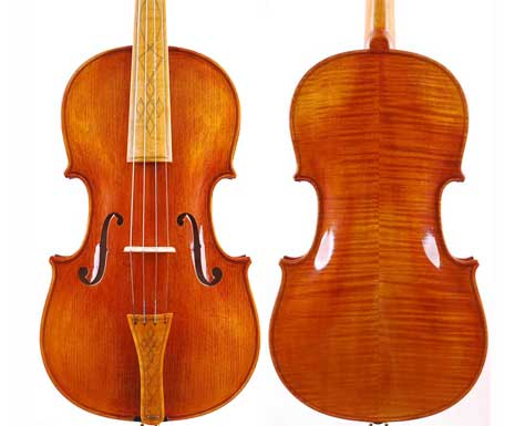 Baroque Model Flamed T20 15''and 16''Violas